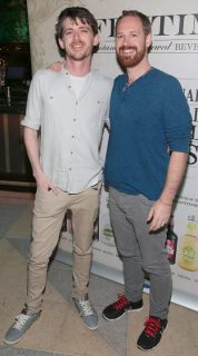 Sean Whelan and Douglas Taylor pictured at the Fentimans Botanical Cocktail Experience at the Opium Rooms,Dublin. Picture Brian McEvoy No Repro Fee