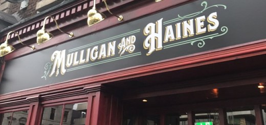 Dame Street Just Got a Beautiful New Bar Inspired in James Joyce's Masterpiece - Mulligan & Haines Bar Review