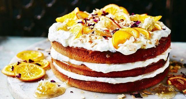 Orange Blossom and Honey Cake Recipe by Jon Gregory-Smith