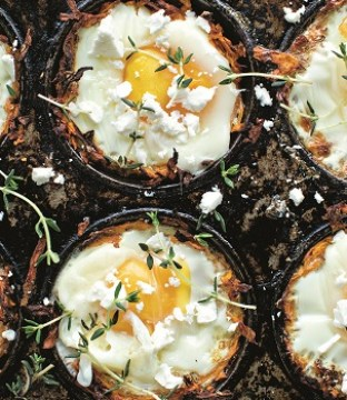 On-the-go Sweet Potato Egg Pots Recipe by Roz Purcell