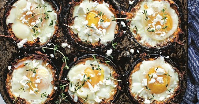 sweetpotato egg pots recipe