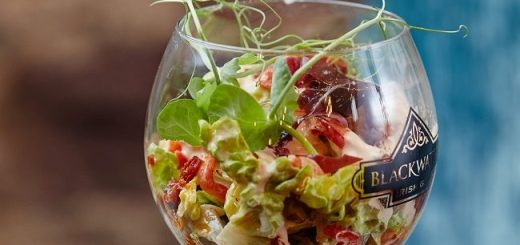 Blackwater Juniper Cask Gin Prawn Cocktail Recipe by Chef Bryan McCarthy Picture: Miki Barlok