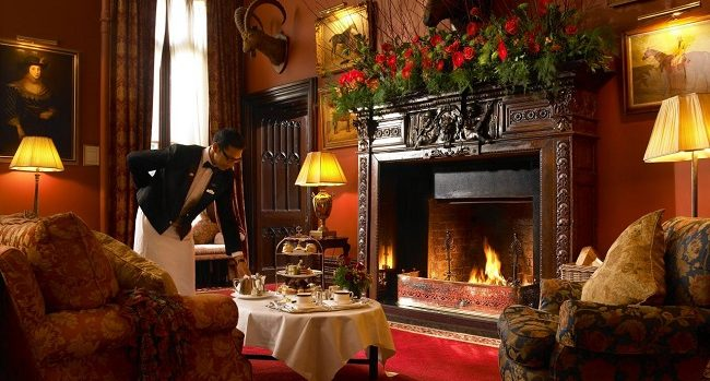 Drumoland Castle Afternoon Tea Christmas