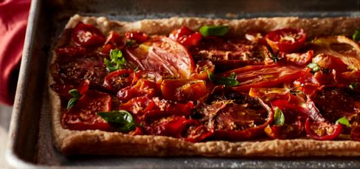 Tomato Tart Recipe 1