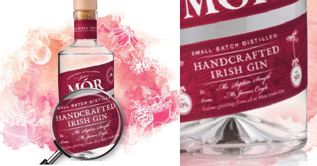 You Can Now Get a Personalised Bottle Mór Irish Gin