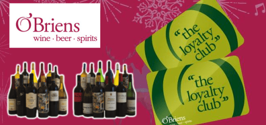 Time to Stock Up for the Holidays: O'Briens Wine's Best Loyalty Offer Ever is Here