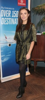 Holly Carpenter pictured at the Emirates Dubai Brunch at the Dean Hotel,Dublin.