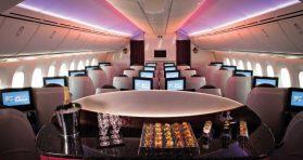 qatar business class bar 2