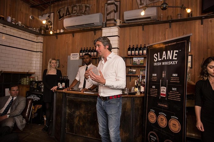 Irish Whiskey Royalty - Meet Alex Conyngham from Slane Irish Whiskey