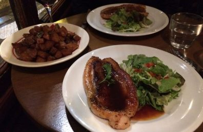 Cafe Armagnac Grilled duck breast