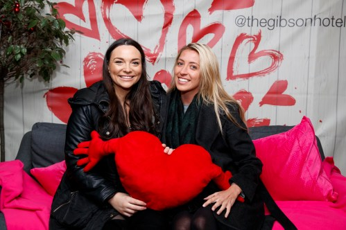 Caitlin McBride and Laura Keenan pictured at the launch of First Dates Restaurant at the gibson hotel. The First Dates Restaurant is open from Thursday – Saturday nights (inclusive subject to availability). Visit www.thegibsonhotel.ie for more information on how to book and available dates. Picture Andres Poveda