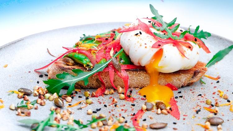 Poached egg & toast recipe 1