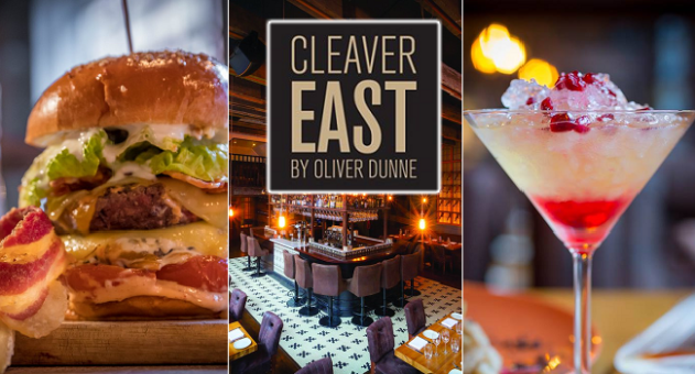 Savour the Perfect Burger and a Cocktail for 2 People at Cleaver East for Only €30