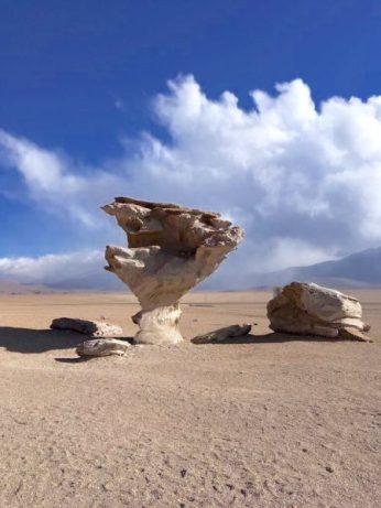 Arból de Piedra (rock tree), Salar de Uyuni