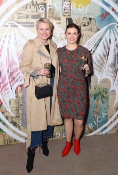 Lorna Weightman and Lynn Krammer pictured at the launch of BACARDÍ Cuatro and Ocho, which were officially introduced in true prohibition style last night at an exclusive speakeasy event off Camden Street. Pic: Marc O'Sullivan