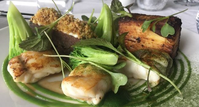 Monkfish Recipe with Slow Cooked Beef Cheek from Lemon Tree Restaurant, Bord Bia Just Ask Restaurant of the Month April 2018