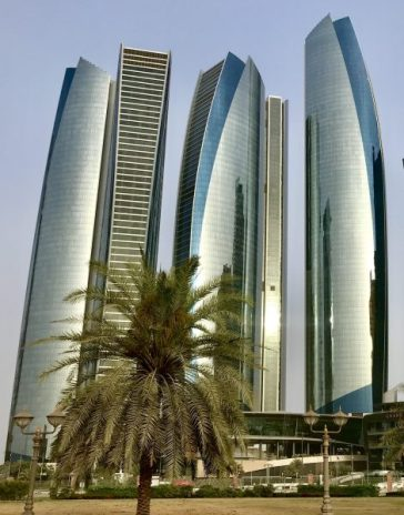 Abu Dhabi Eithad Towers