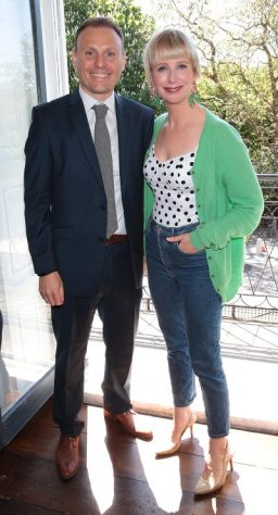 Niel Alobaidi and Aisling O Loughlin at the launch of Emirates Holidays in Ireland at Cliff Townhouse Dublin. Pic: Brian McEvoy.