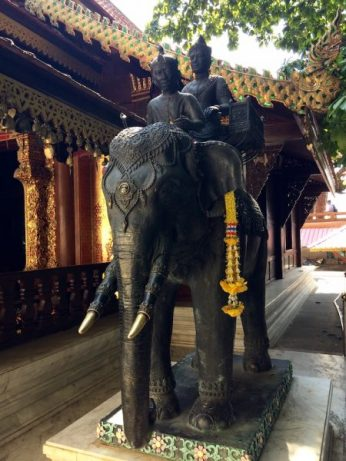 Statue of an elephant - Chiang Mai