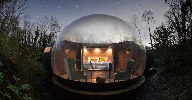 Enchanting Bubble Dome