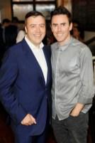 Vincent O'Gorman and Glen Power at Balfes Summer Party-photo Kieran Harnett no repro fee