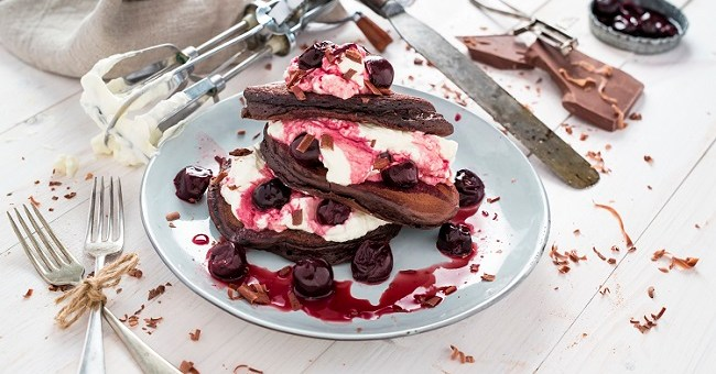 Siúcra's Black Forest Pancake Recipe 1