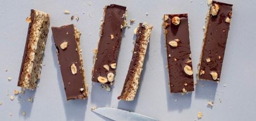 Caramel & chocolate slice