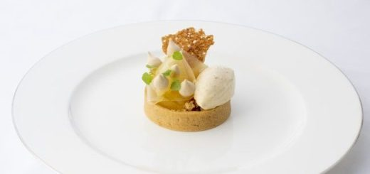 Brown Sugar Tart With Apple And Oats Recipe by Head Chef Cormac McCreary at Sheen Falls Lodge