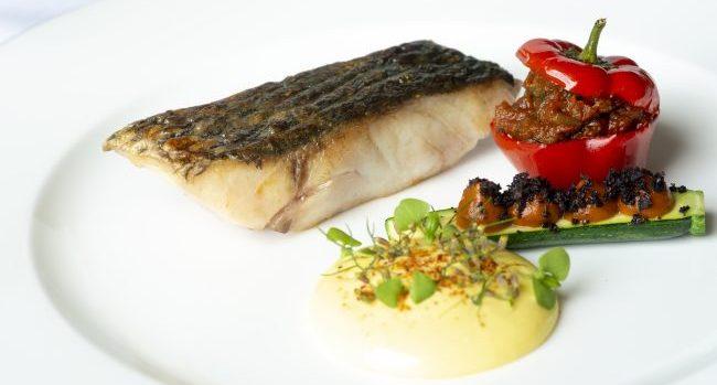 Pan Fried Stonebass Recipe by Head Chef Cormac McCreary at Sheen Falls Lodge