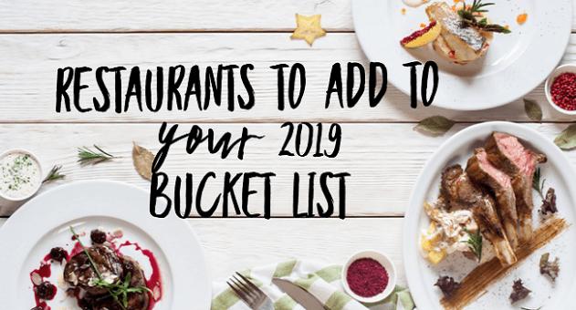 Culinary Bucket List