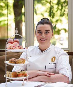 Raspberry Cheesecake Macaron Recipe By Chef Orna Larkin at Intercontinental Dublin