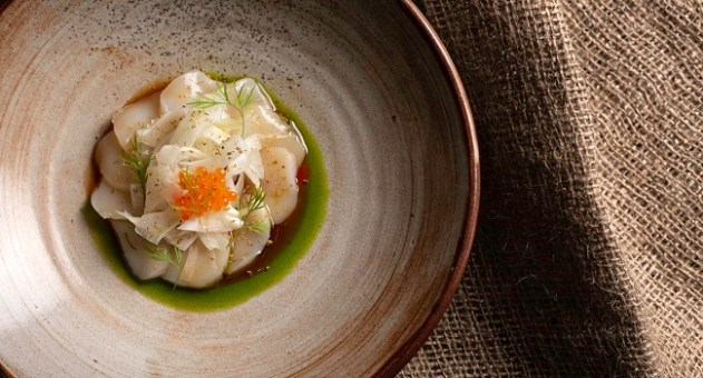 Scallops Ceviche Recipe By Chef Zsolt Zakar At Lobstar Restaurant