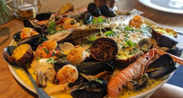 Little Mikes Seafood Platter