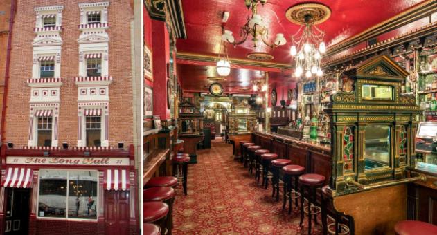 The Long Hall Dublin Bar Review