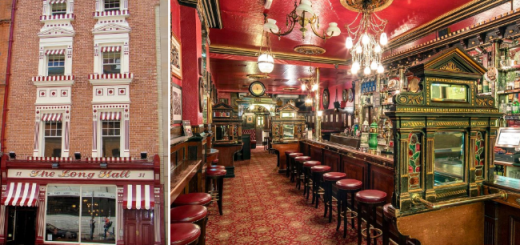 The Long Hall Dublin Bar Review