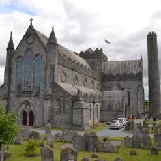 St Canice's Cathedral and tower