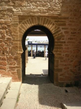 The gate to Café Maure- thetaste0flife©