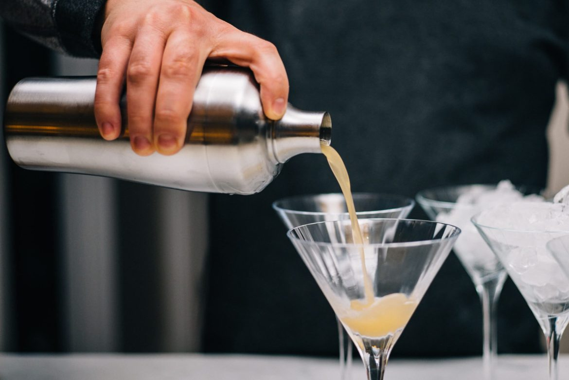 Making the Fall Classic Cocktail for Thanksgiving