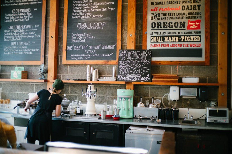 Visit salt & straw ice cream in Portland or San Francisco