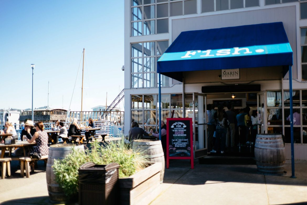 Fish in sausalito is a great place for sustainable and fresh fish