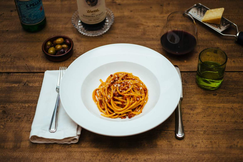 The Taste Edit makes their pasta all'amatriciana recipe