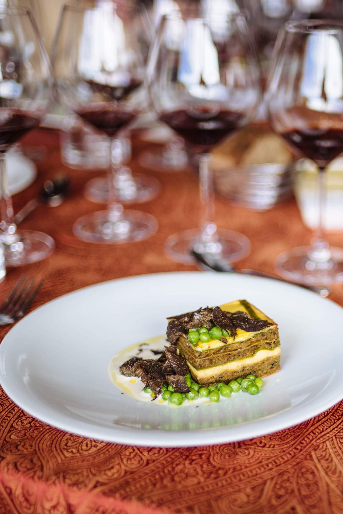 Michael Tusk lamb lasagna at Relais and Chateaux GourmetFest in Carmel - The Taste Edit