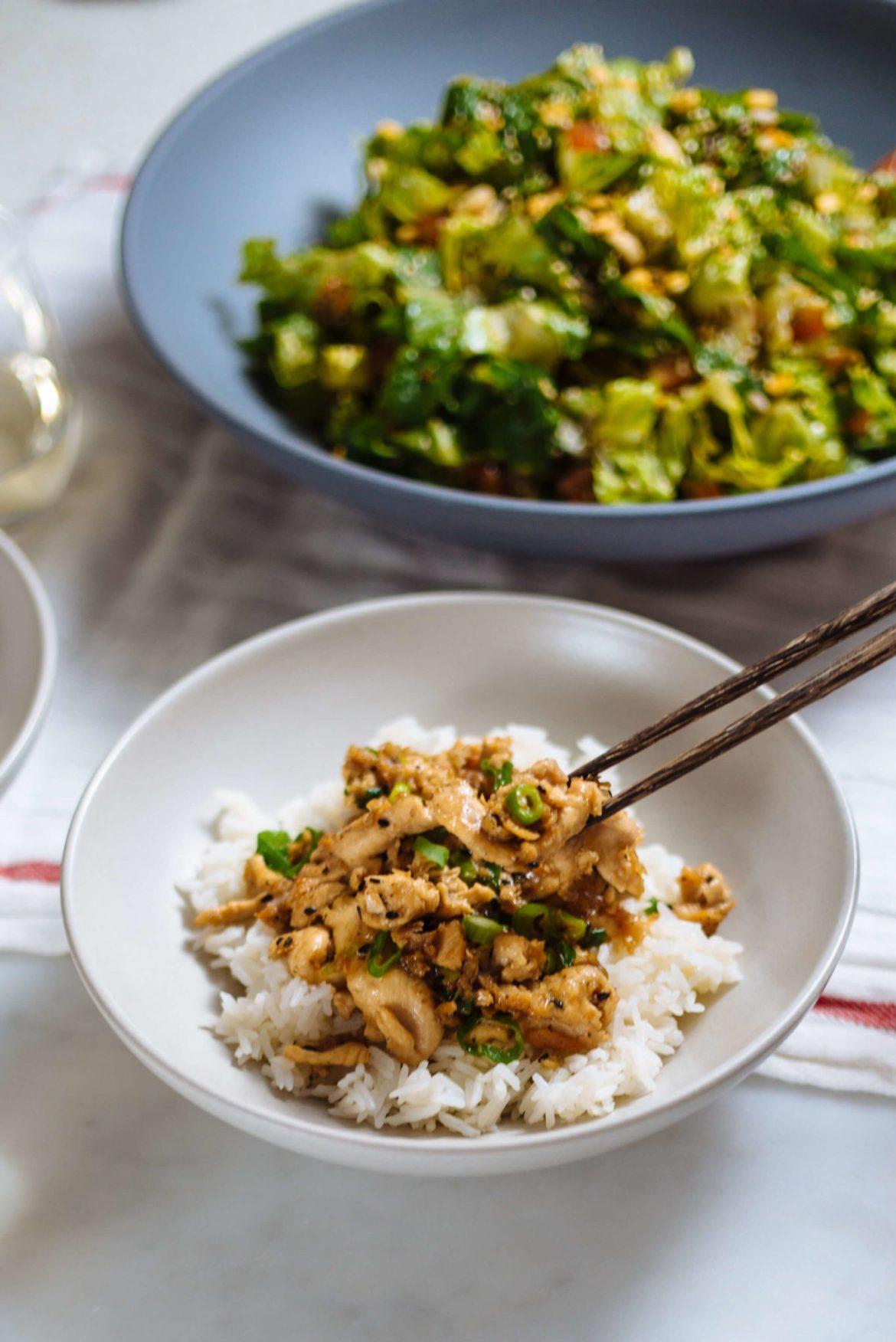 Burma Superstar cookbook Sesame Chicken made by The Taste Edit