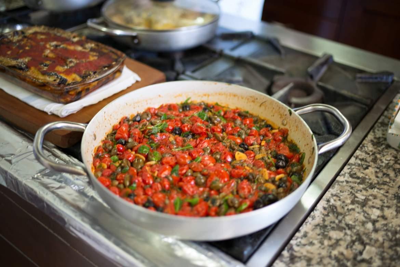 Farmer's Pasta sauce, Mamma Agata's Cooking School, Ravello, The Taste Edit