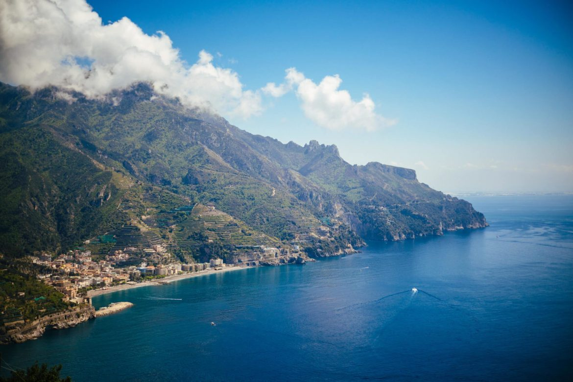 The view from Palazzo Avino in Ravello, The Taste Edit