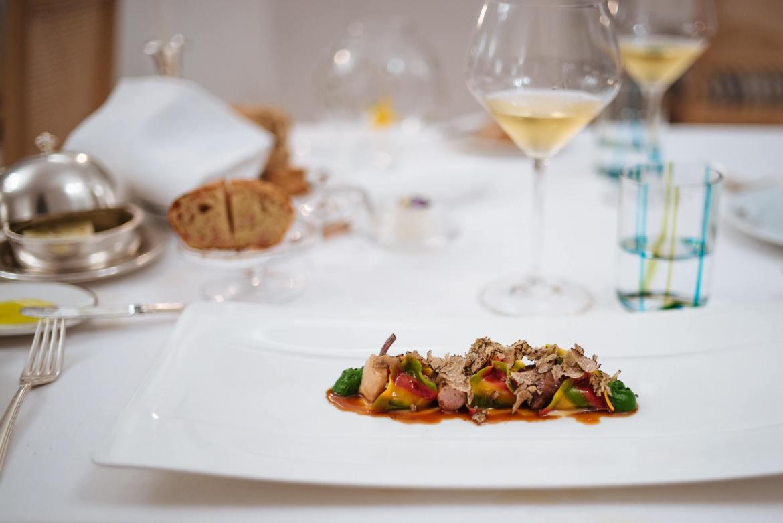 Stuffed Rabbit Ravioli at Rossellini's Restaurant in Palazzo Avino, Ravello Italy, The Taste Edit