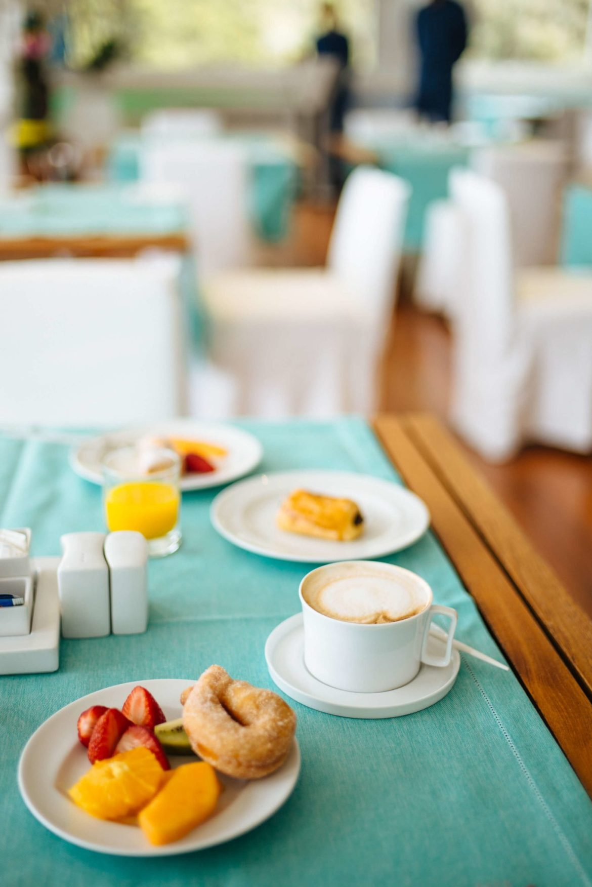 breakfast with the perfect cappuccino at Casa Angelina Lifestyle Hotel in Praiano Italy, The Taste Edit
