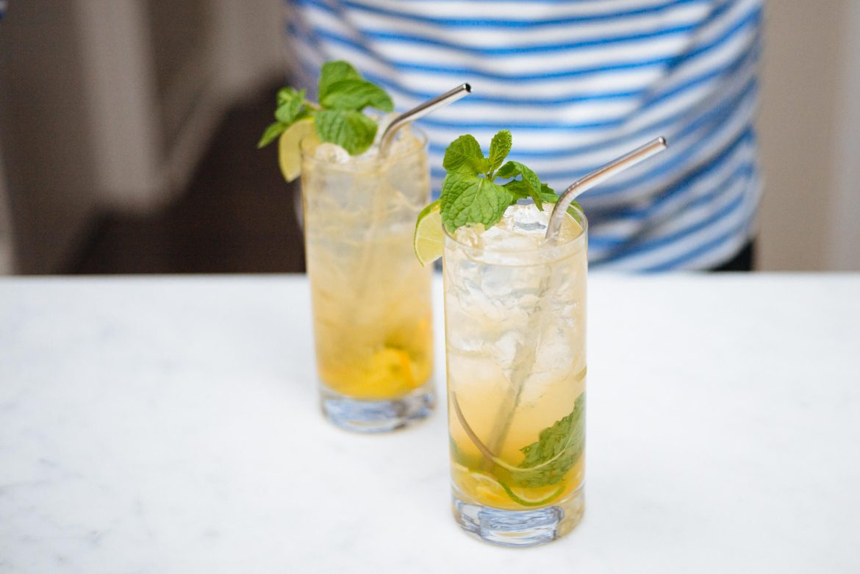 The Taste Edit makes the Shanghai Terrace's Ning Sling Cocktail