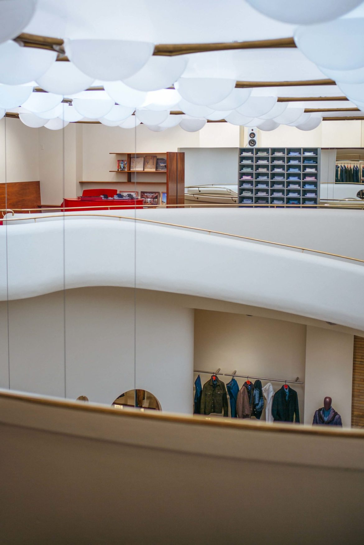 Admiring the Isaia San Francisco Store, Neapolitan Isaia suits in the historic VC Morris Frank Lloyd Wright San Francisco, The Taste Edit