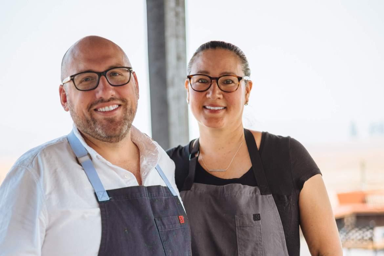 Greg Denton and Gabrielle Quiñónez-Denton james beard award winning chefs from Ox Restaurant and Superbite in portland OR, The Taste Edit